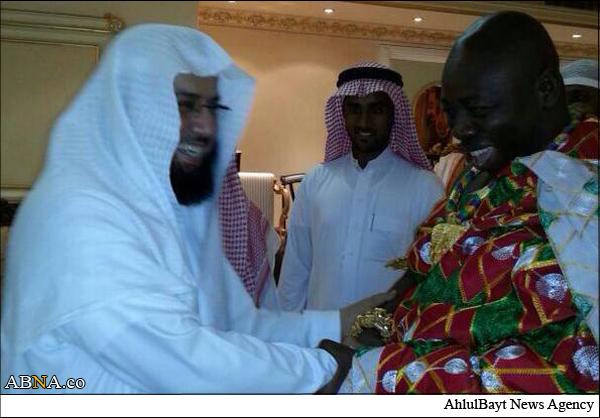 رئیس بزرگترین قبیله غنا