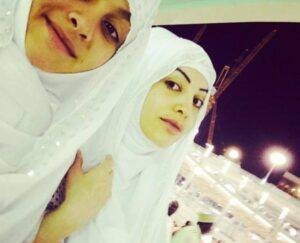 شبنم ثریا و دخترش شریفه عکسهایی از خود در سفر حج منتشر کردند