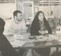 حسین مورلی و همسر